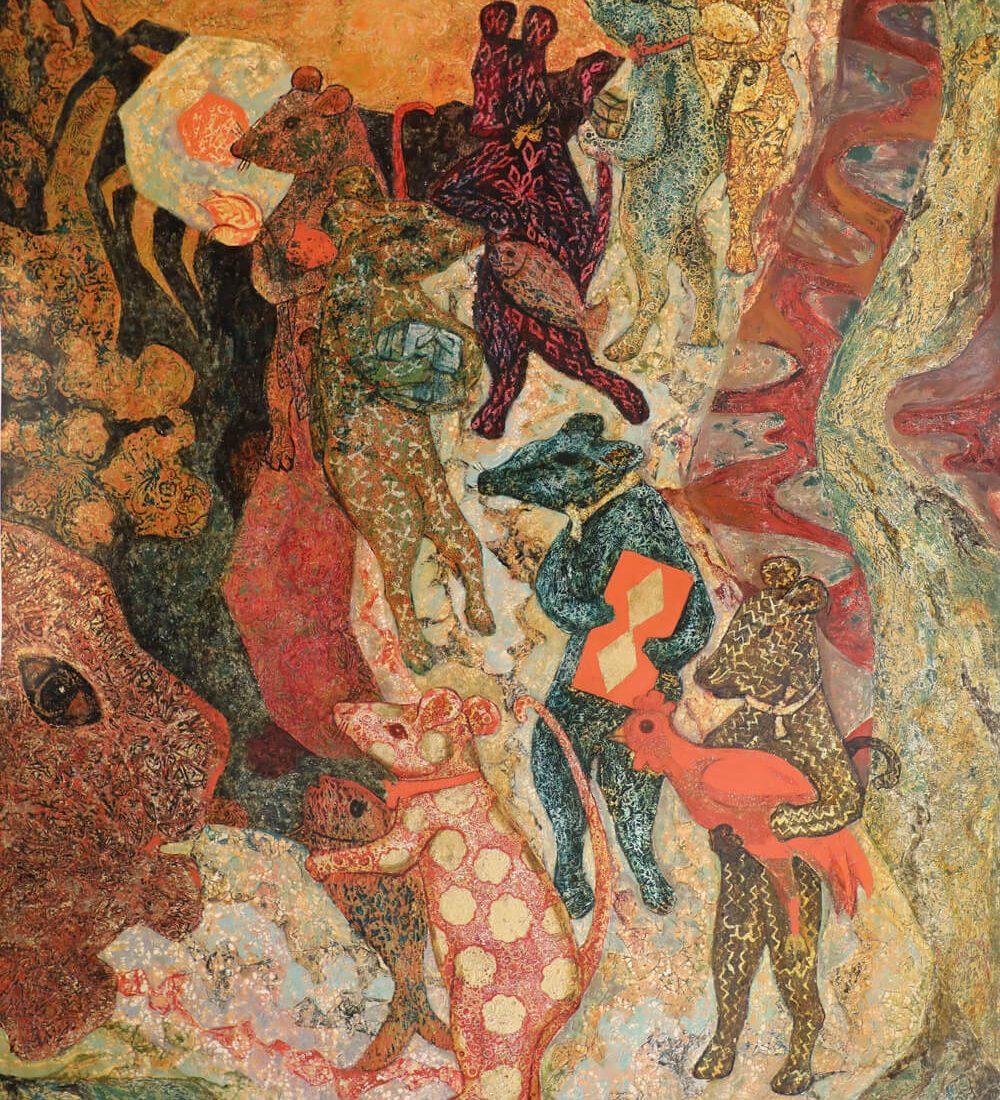 Sinh Nhat Meo, Vietnam Art Galleries