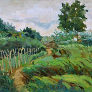 (Sold)-60x80-Green-Field
