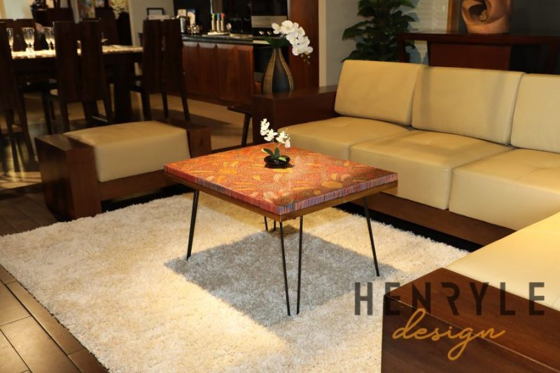 Spring Buds Colored-Pencil Coffee Table I 5