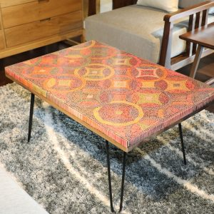 Starry Night Colored-Pencil Coffee Table