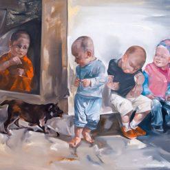 Strange 1, Hanoi artist paintings