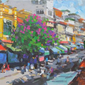 Street in Riverside, Vietnam Art Paitings
