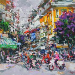 Summer comming 1, Vietnam Paintings