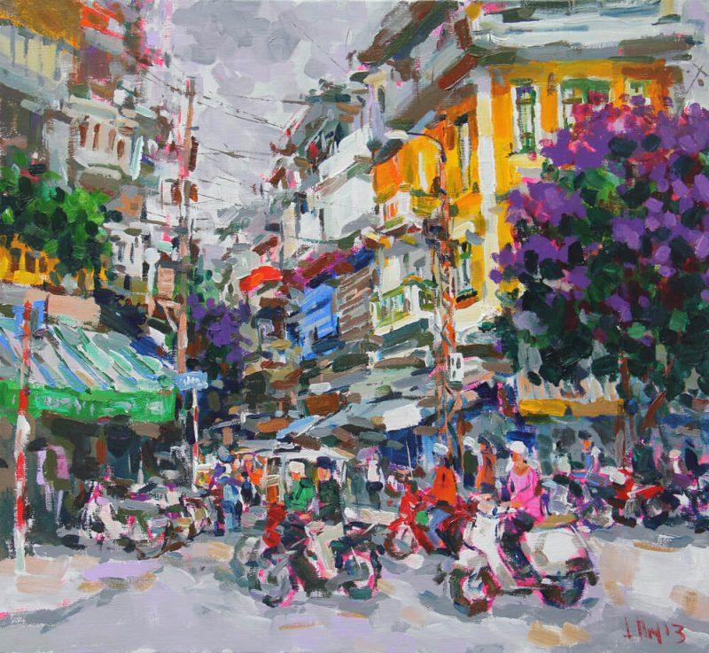 Summer comming 1, Vietnam Paintings