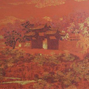 Sunset in the west lake, Hanoi Art Gallery