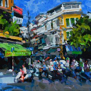 Ta Hien Street Corner - 110x100