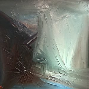 That Place is The Light III - acrylic on canvas paintings by vietnamese artist