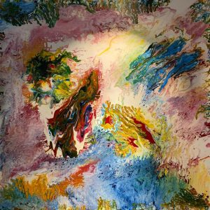 The Bliss - vietnamese acrylic on canvas paintings