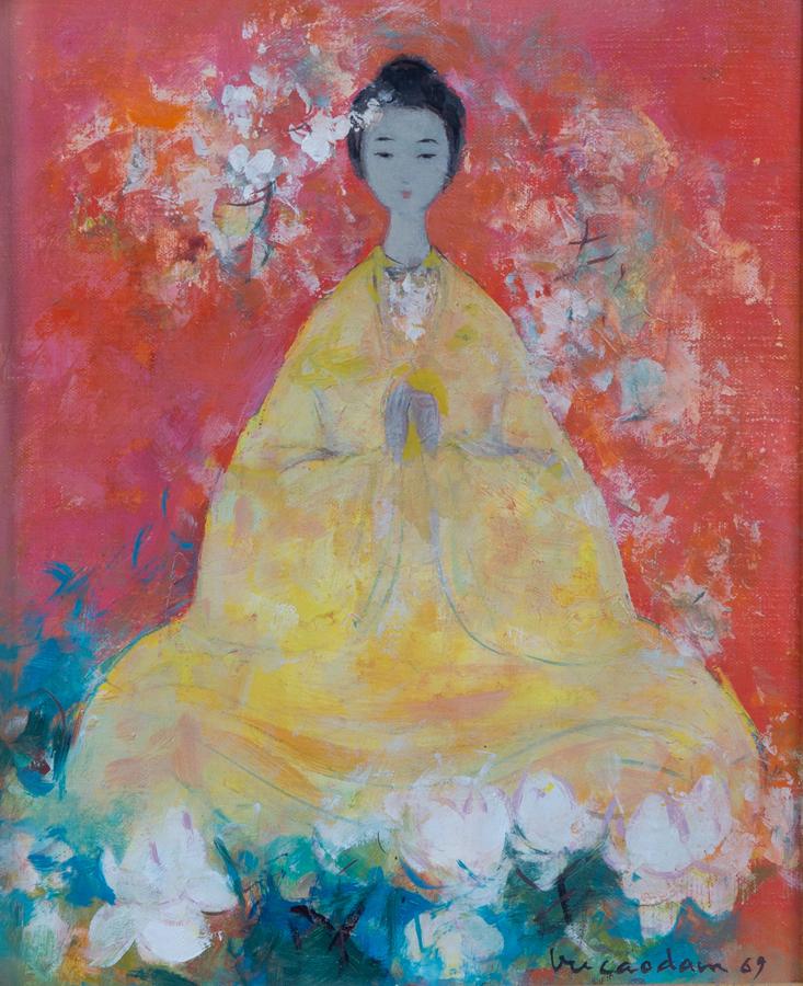 The Buddha by Vu Cao Dam