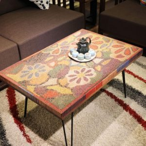 The Floral Life Colored Pencil Coffee Table