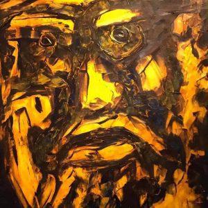 The Master IV - acrylic on canvas artworks