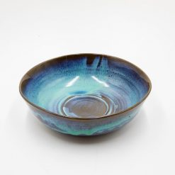 The Muse Ceramic Bowl in Blue