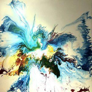 The Origin - vietnamese acrylic artworks by trinh thang