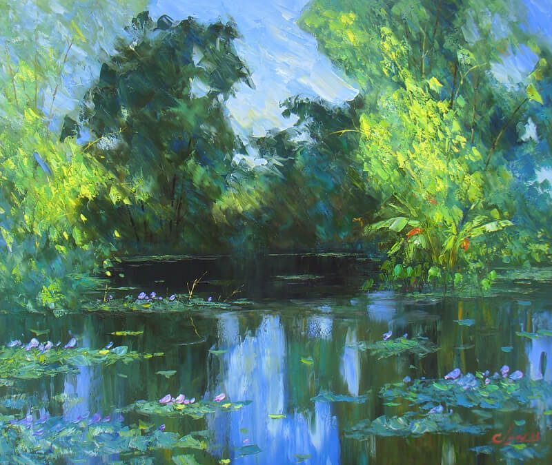 The Pond, Dang Dinh Ngo, Best Art Gallery in Hanoi