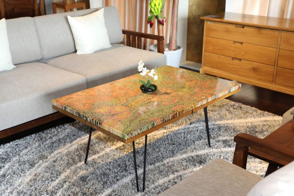 The Wildflowers Colored Pencil Coffee Table