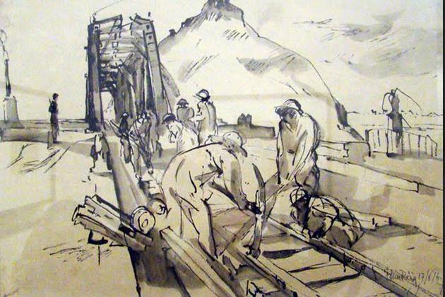 Tran Huy Oanh - Sketching