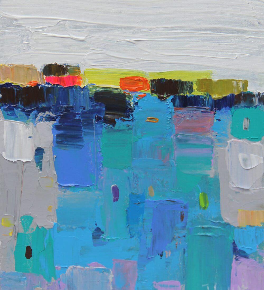 Untitle 008 18 x 24, Hanoi Paintings