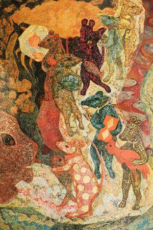 Vietnam Animal Paintings famous vietnamese art