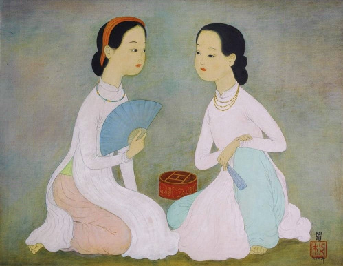 Vietnam Most Famous Paintings - Chit Chat