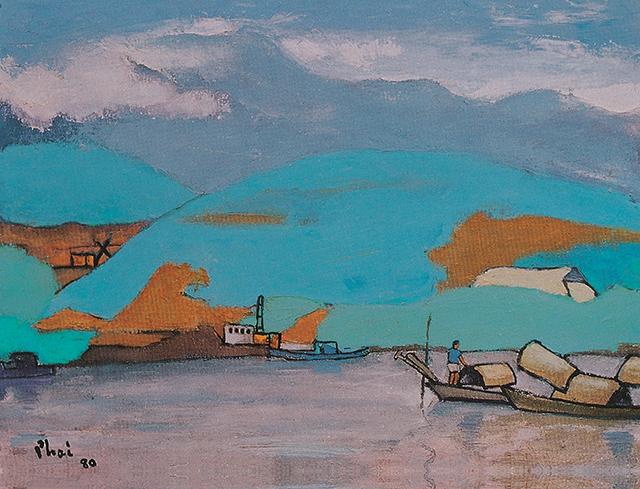 Vietnam Most Famous Paintings - Da River