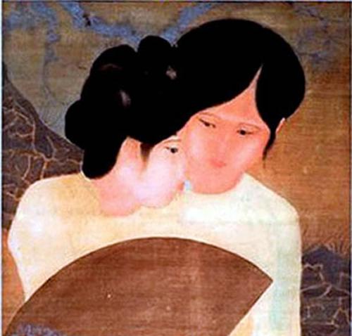Vietnam Most Famous Paintings - Friends