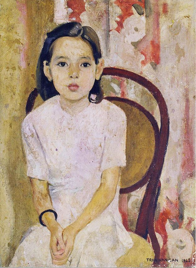 Vietnam Most Famous Paintings - Little Thuy - Tran Van Can