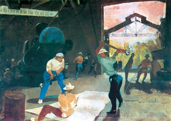 Vietnam Most Famous Paintings - Mechanic