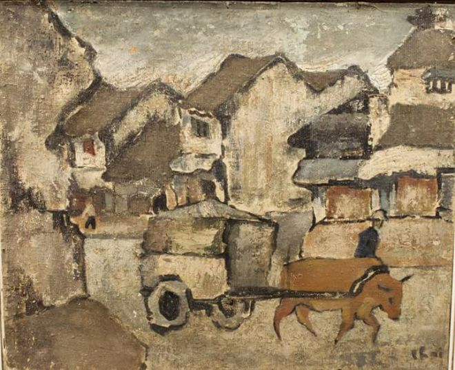 Vietnam Most Famous Paintings - Old Street