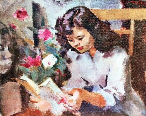 Vietnam Most Famous Paintings - Reading Book