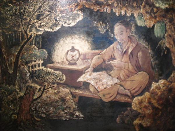 Vietnam Most Famous Paintings - Uncle Ho