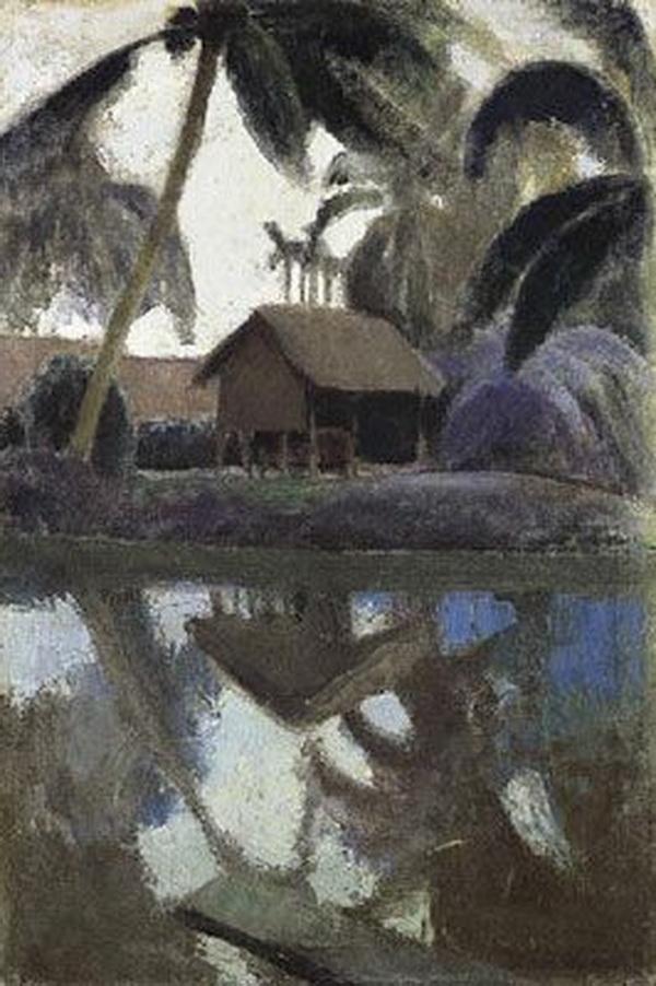 Vietnam Most Famous Paintings - the village