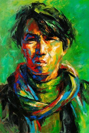 Vietnam Portrait Paintings famous vietnamese painters