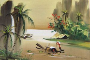 Vietnam Traditional Paintings Displayed In Southern Hub