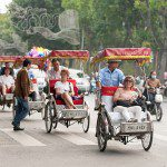 Vietnam Travel by rickshaw