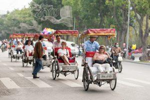 Vietnam Travel by rickshaw