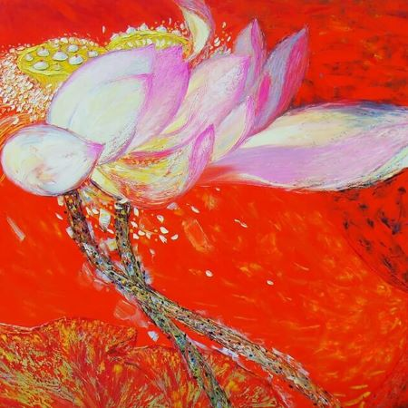 Vietnamese Oil Paintings famous vietnamese art