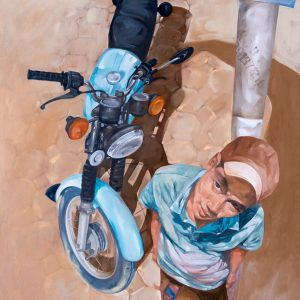 Waiting for work, Art Painting in Vietnam
