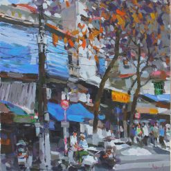 Winter moment in Hanoi, Art Gallery in Vietnam