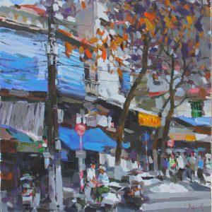 Winter moment in Hanoi, Art Gallery in Vietnam