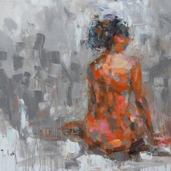 Women Sihouette, Art gallery in Hanoi