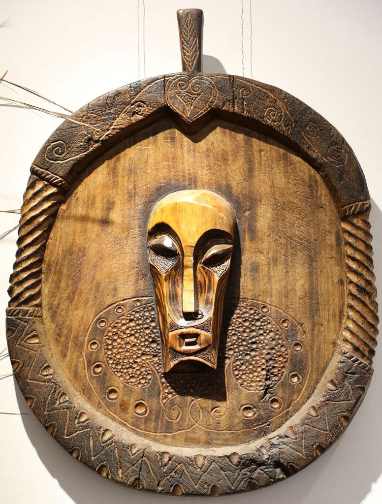 Wooden Portrait 01 - Bui Duc