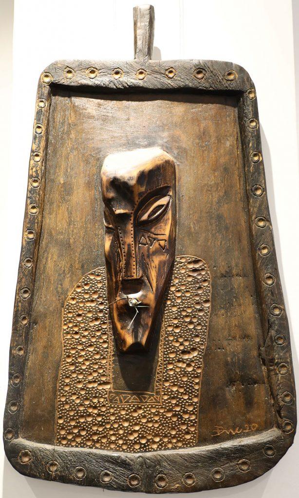 Wooden Portrait 02 - Bui Duc