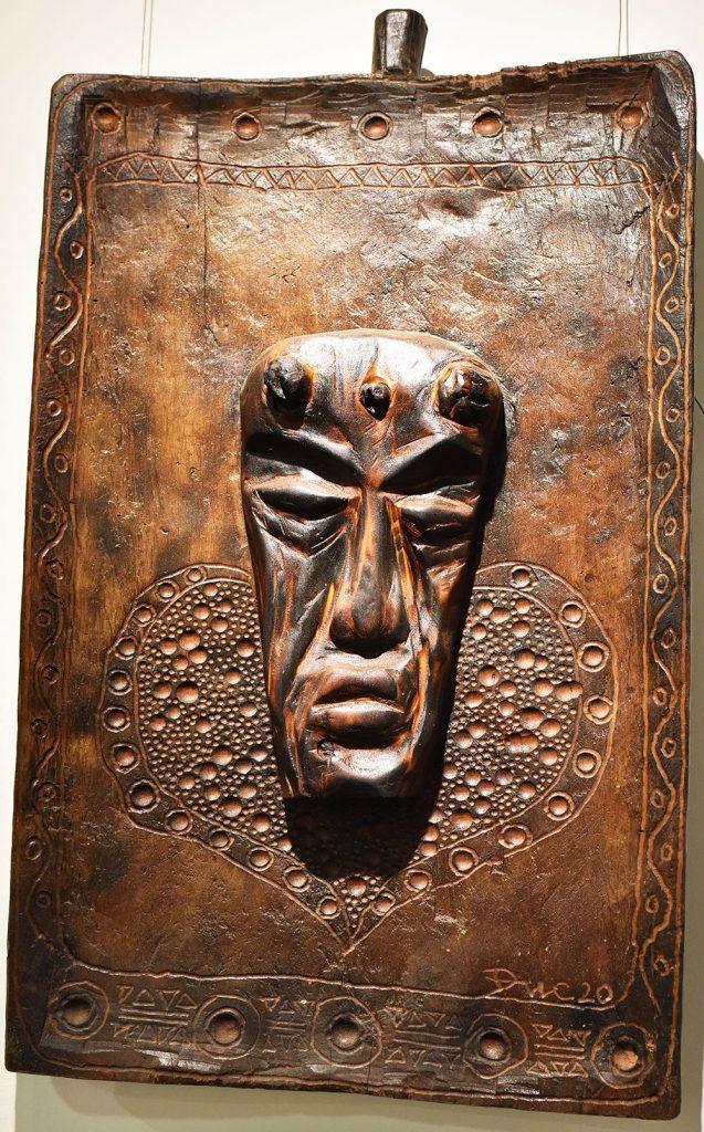 Wooden Portrait 05 - Bui Duc