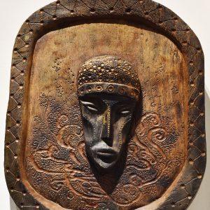 Wooden Portrait 08 - Bui Duc