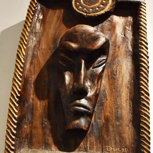 Wooden Portrait 10 - Bui Duc