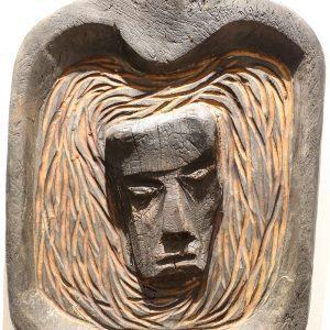 Wooden Portrait 13 - Bui Duc