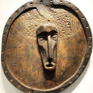 Wooden Portrait 14 - Bui Duc