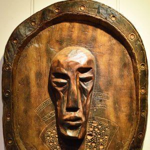 Wooden Portrait 15 - Bui Duc