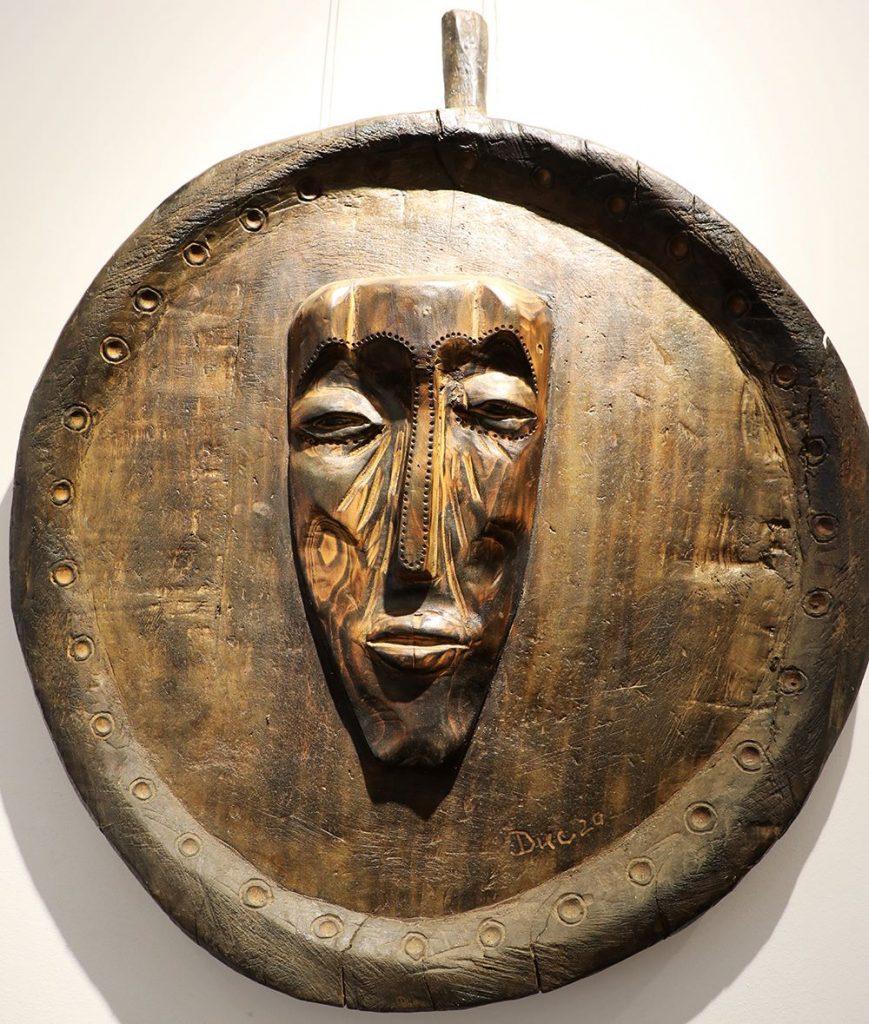 Wooden Portrait 18 - Bui Duc
