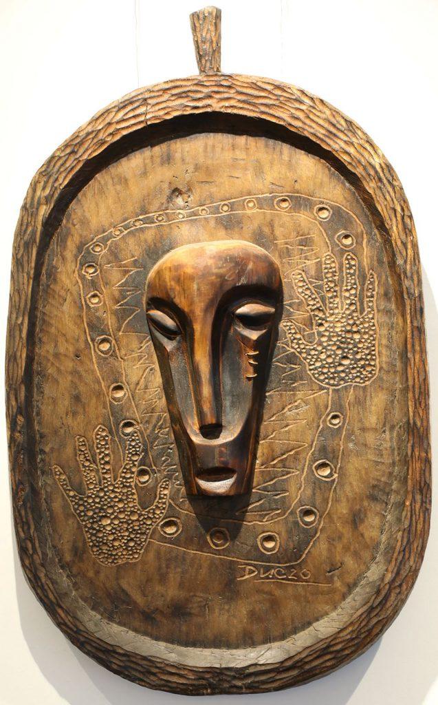 Wooden Portrait 20 - Bui Duc